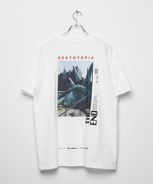 デストピア DEATH TOPIA T-shirt [White]
