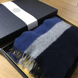 手織り メンズマフラー カシミヤ 0027 handweaving cashmere scarf