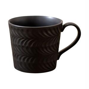 波佐見焼 翔芳窯 ローズマリー マグカップ 350ml マットブラック 33382