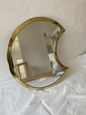 モロッコメタル鏡〈三日月〉大