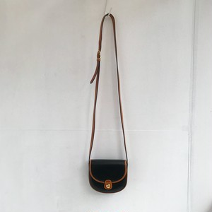 CELINE bi-color leather mini shoulder bag