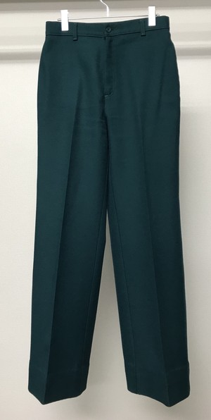 1970s LEVIS POLY WIDE TROUSERS