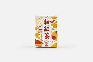 【SETOUCHI CRAFT TEA】和紅茶(農薬不使用)ティーバッグ 2g × 10包 / Black tea (No pesticides used) 10 count pack of 2g tea bags