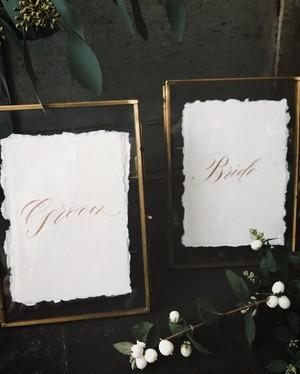 新郎・新婦 bride groomカード(レンタル)