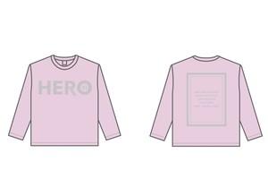HEROロングTシャツ(P/G)