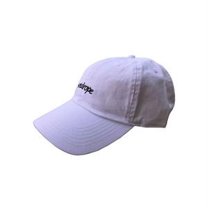 【#redropejp 6PANEL CAP】white