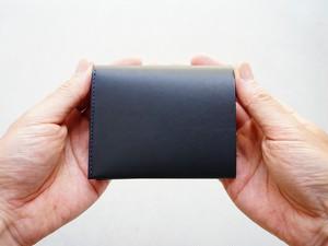 コンパクト二つ折り財布(小銭入れなし)