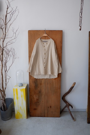 YUTA MATSUOKA ラウンドネックシャツ (ECRU / size:1)