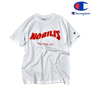 【数量限定/送料無料】Champion NOBILIS Logo Tee White【品番 19S3001】