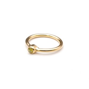SINGLE PETIT STONE NON-ADJUSTABLE RING 094