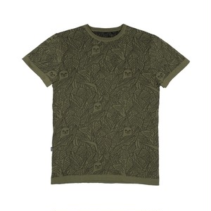 RIPNDIP - Nermal Leaf Knit Reversible Tee (Olive / Black)
