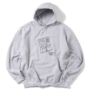 KEN KAGAMI Party Opening HOODIE(GRAY)