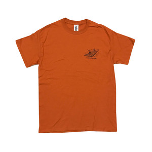 "SIXSENSE ""LIFE GRANDE"" S/S Tee -Texas Orange-"