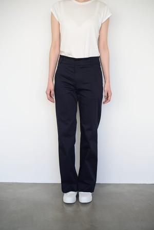 Cotton Wide Pants / Navy