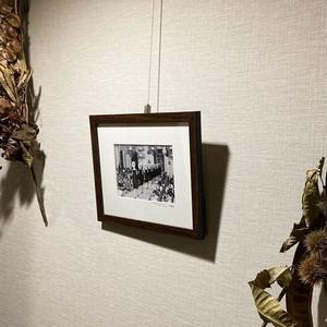 1961年撮影 アルノ川 レストラン ヴェッキオ橋【240196101】
