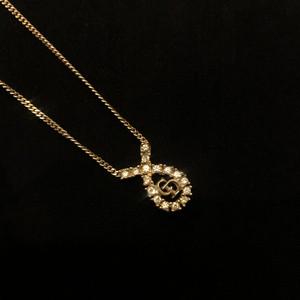 "DIOR ""Rhinestone"" Necklace #03"