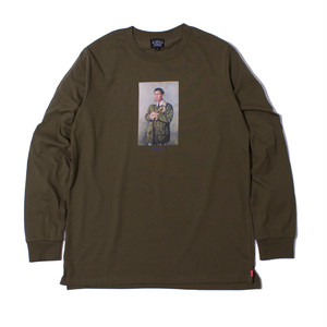 PRINCE L/S TEE (OLIVE)