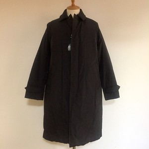 Down Soutien Collar Coat Black