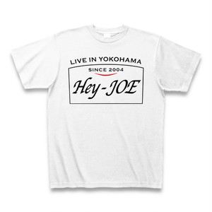 Hey-JOE 看板ロゴTシャツ ホワイトB