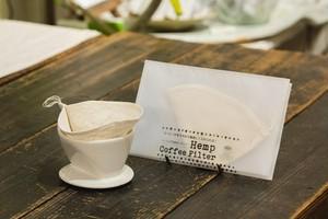 hemp coffee filter