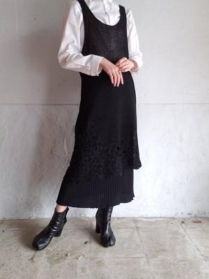 【used】ISSEY MIYAKE IS 80s mesh dress イッセイミヤケ メッシュワンピース
