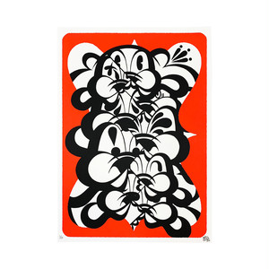 KABEKUI - INFINITE Print -Red-