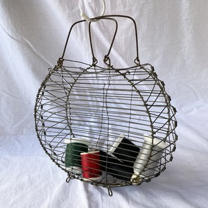 French 1900~1930's Wired Basket