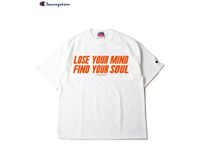 "LOCALHYTHM ""FIND YOUR SOUL"" TEE POSER ORIGINAL CHAMPION Heritage 7oz tee"