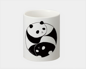 yin&yang panda/ヒフミヨイ hifumiyoi