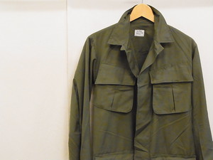 US ARMY/JUNGLE FATIGUE JACKET/4th/XS-R(DEADSTOCK)