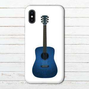 #089-004 iPhoneケース スマホケース ロック 系 おしゃれ メンズ シンプル ARROWS ケース タイトル:guitar(白) 作:7.7.4(ナナシ)
