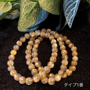 キラリ☆ゴールドルチルブレスレット/タイプ1番