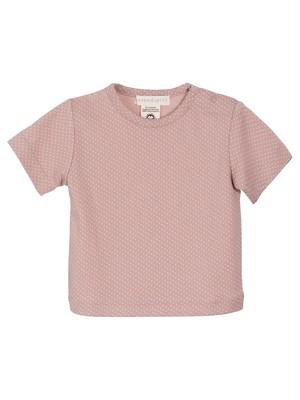 (ベビー) serendipity ORGANICS ドットヘザーピンク Tシャツ オーガニックコットン
