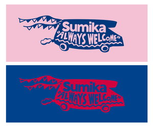 sumika / CAMPING CARタオル