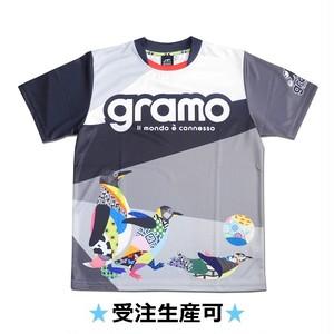 プラクティスシャツ「Let's hang out!」(モノ・ペンギン/P-044)☆受注生産可☆