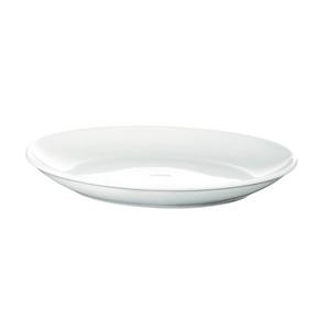 西海陶器 波佐見焼 「コモン」 プレート 皿 210mm ホワイト 13210