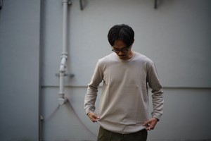 CURLY / CLOUDY LS CN TEE