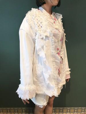 白い気持ち羽織