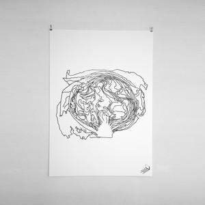 lettuce / ポスター /シルクプリント