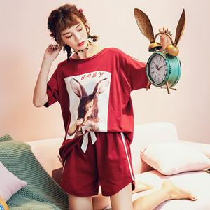【ルームウェア】2点セット夏新作ファッションハイウエストパジャマ