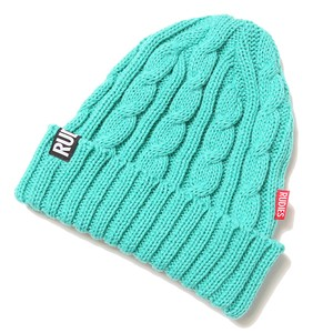 RUDIE'S / ルーディーズ | PHAT CABLE KNIT CAP - Mint
