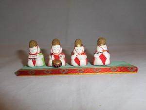 ミニ四人囃子four dolls