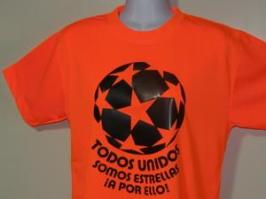 TODOS UNIDOS ESTRELLAS T-SHIRT ORANGE