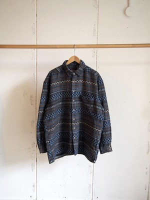 USED, Long sleeve jacquard shirts