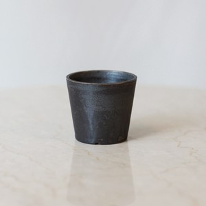 Roughness Black Basic Plants Pot ※XXS