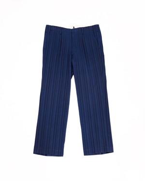 stripe wool slacks