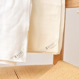 無撚糸パイルとガーゼのバスタオル