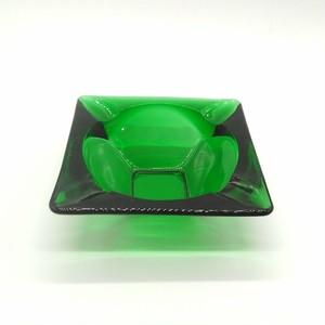 アンカーホッキング社  フォレストグリーン 灰皿 small