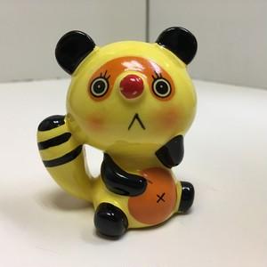 レトロな陶器のマスコット【ポンダ】(012221160)