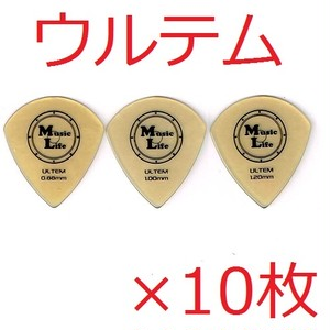 ULTEM (ウルテム) JAZZ XL ジャズ型 ピック 【×10枚】送料込み 700円